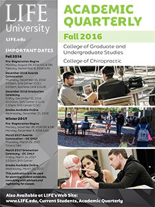 Cover image of Fall 2016 Academic Quarterly