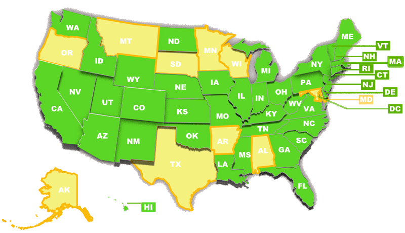 United-States-Map-from-User01292015 - Life University. A World ...