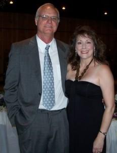 Shelia Wood with Husband