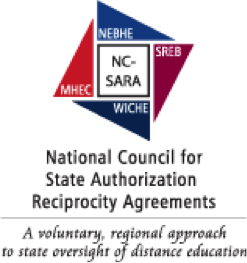 logo for National Council for State Authorization Reciprocity Agreements