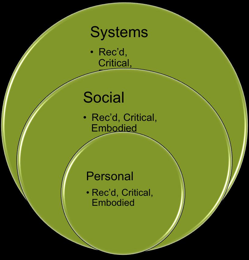integrerte domener: kunnskaps domener og kunnskapsnivåer