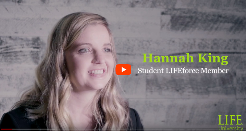Hannah King. DC Student